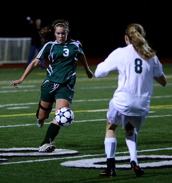 Alex Blaser  Woodinville High Girls Varsity Soccer verse Skyline High October 20, 2011, ©Neir