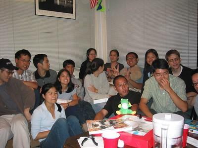 2004.07.27 Tuesday - Eileen Fung & Allen Hsiao's B-day and Eileen Farewell @ Andrew Gi & Luke Tso's