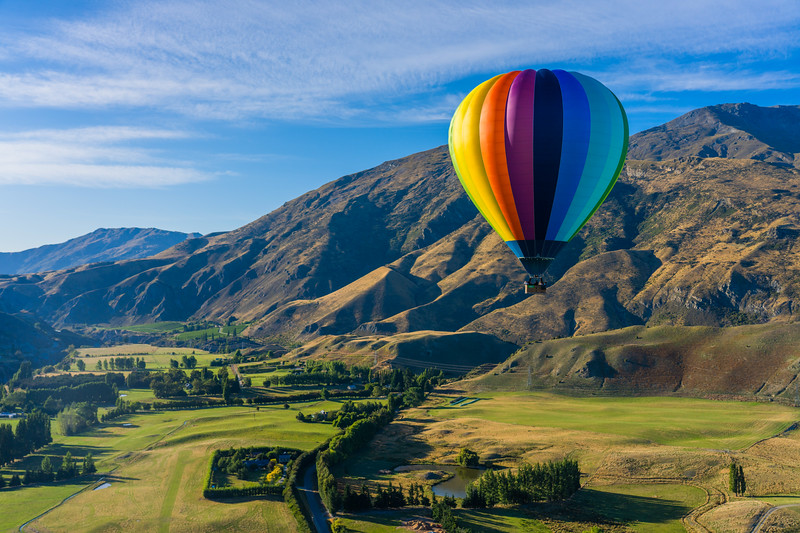 Hot Air Balloon Ride Across Queenstown