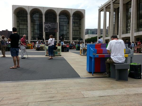 Pianos Exhibition - Lincoln Center