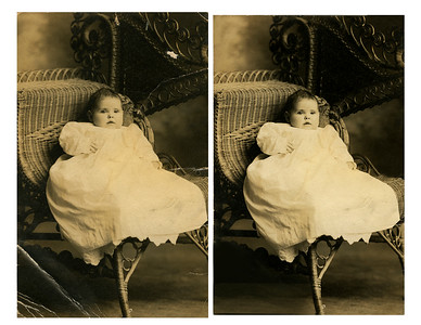 before and after-photo restoration