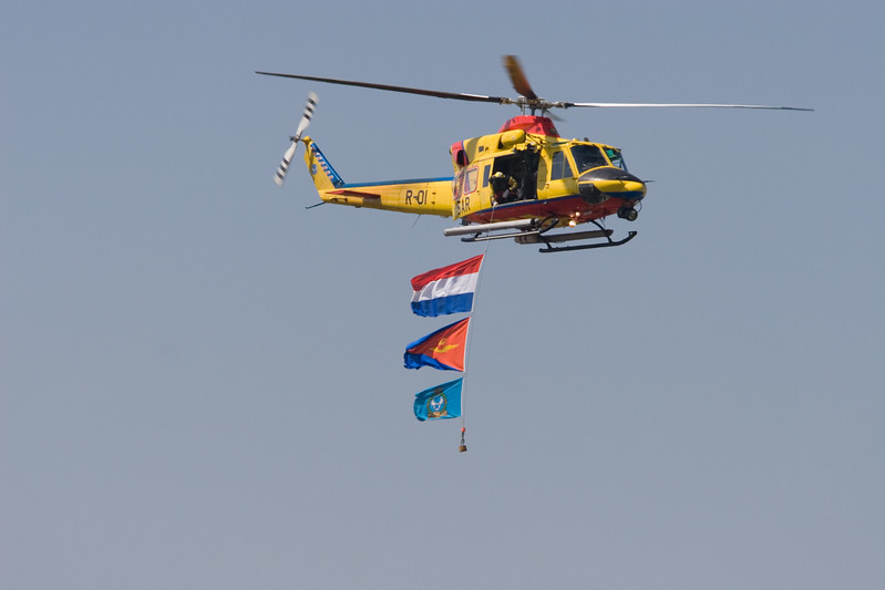 SAR helicopter. R-01. Royal Netherlands Air Force.