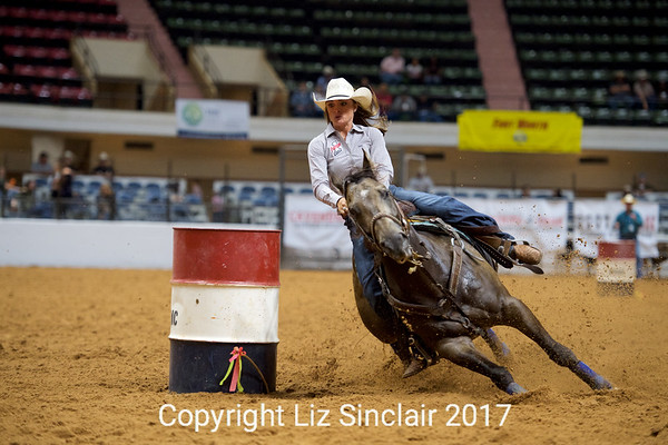 Cowboy Cops Benefit Rodeo Barrel Racing