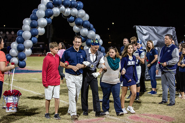 2018 Oct. 19 - Ironwood Ridge Nighthawks - Band Half Time