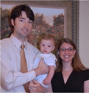 Baby Dedication May 2010