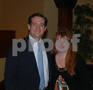 4/6/13 Smith County Republican Club 24th Annual Dinner Hosts Senator Ted Cruz by Jan Barton