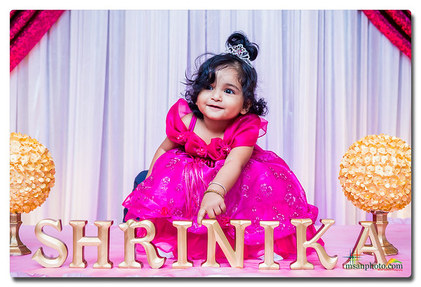 Shrinika's 1st Birthday Celebration 2017