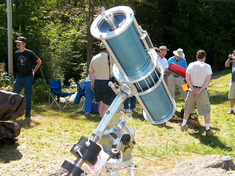 I was unable to gather information on this telescope if anyone can tell me more about it, please do so. Al Paslow - alpaslow@gmail.com.