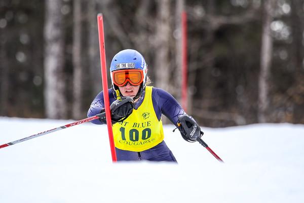 Girls Slalom Second Run