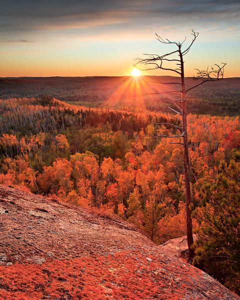Sunset - Carlton Peak