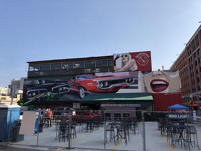 Camilo mural unveiling 9272020