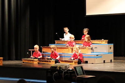 Kindergarten music debut