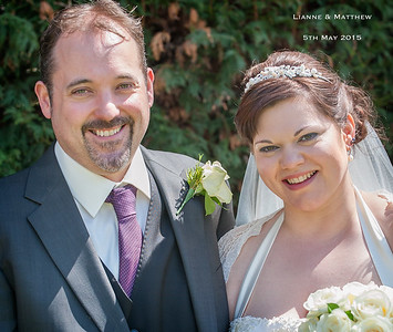 Lianne & Matthew 5th May - Holdsworth House