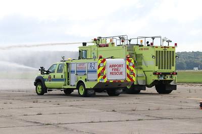 Airplane Crash Drill - Groton/New London Airport, CT - 10/3/18