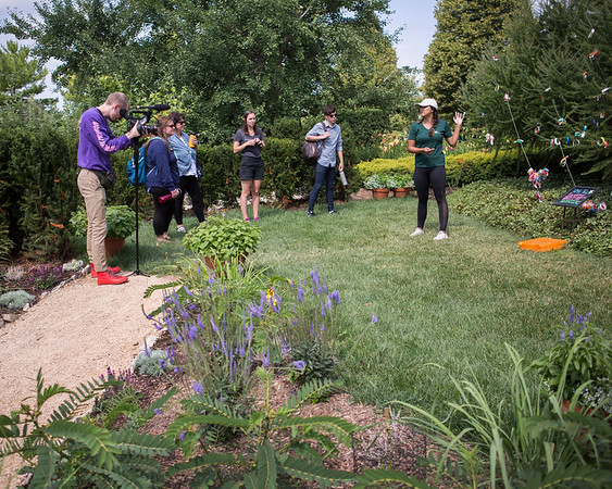 Creative Placemaking Summer Institute Allen Centennial Gardens Visit