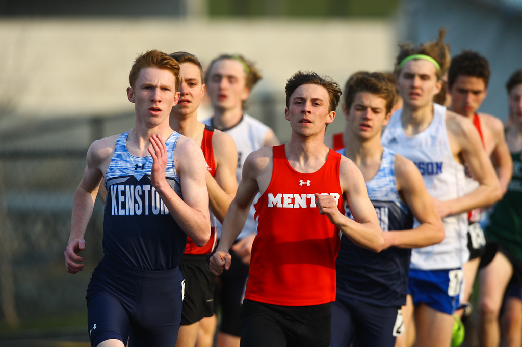 . 2018 - Track and Field - Willoughby South Invitational.  1600 Meter Run.  Jakob McConnell won from  Kenston in 4:28.76.