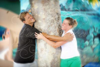 Chris & Erin on the playground :)