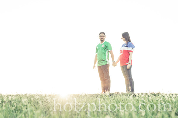 Ramiro & Jennifer Creative Engagement Photos