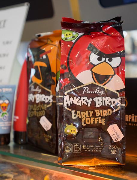 Angry Birds Coffee