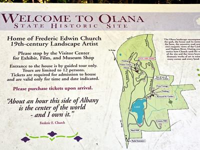 Olana - Home of Frederic Edwin Church - 19th Century Landscape Artist