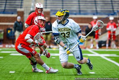 4-5-15 Michigan Men's Lacrosse Vs Rutgers