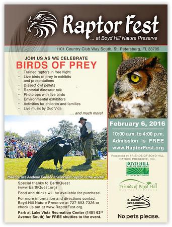 2016-02-06...Raptor Fest...Boyd Hill Nat Pres...St. Pete,Fl.