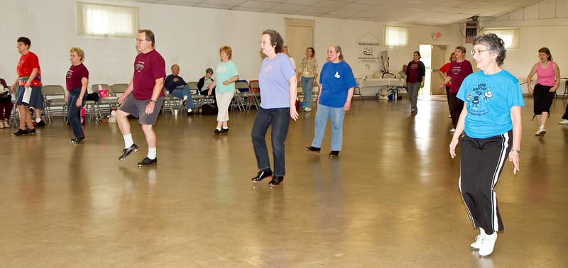 Dancers at Doug Chin Clogging Classic, Orangevale