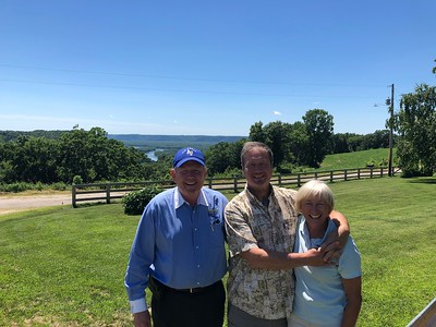 17 July 2018 Fly to Viroqua visit Tubb's