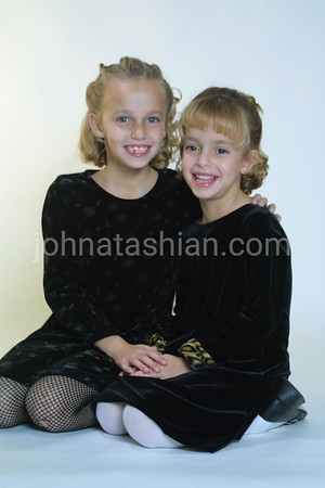 Leah & Alexandra Frosceno Portrats - November 5, 2001