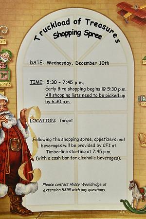 12-10-2003 CFI Truckload of Treasures shopping @ Target