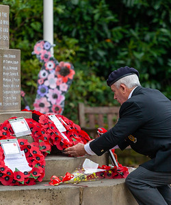 Remembrance Day at Wentworth Cenotaph 11th Nov 2020
