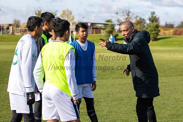 Garuda Select vs Northampton U18, 22nd Oct 2019