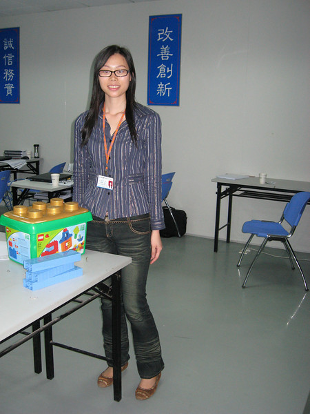 Susan Guo, our 'concierge' at the factory.