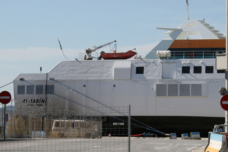 HSC AL SABINI laid up in Toulon.