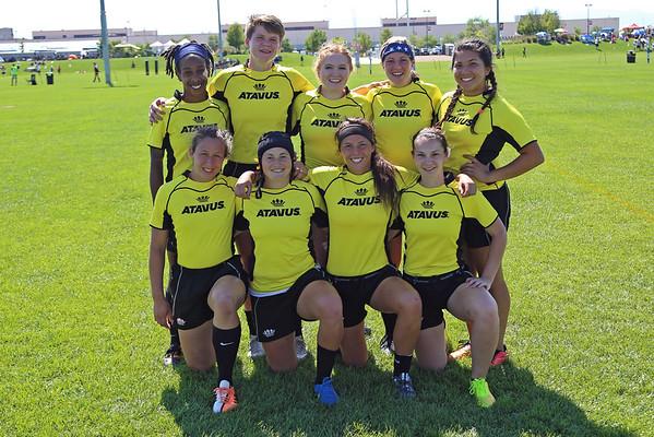 ATAVUS Yellow 2015 Denver Seven's Rugby Tournament