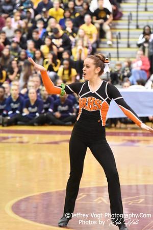 2-13-2016 Rockville HS Varsity Poms at Blair HS MCPS Championship, Photos by Kyle Hall, MoCoDaily