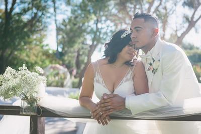 Alex + Antoinette Garden Wedding
