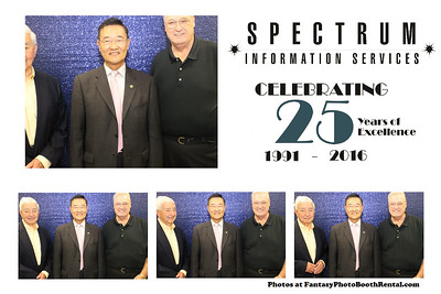 Spectrum Information Services 25th Anniversary
