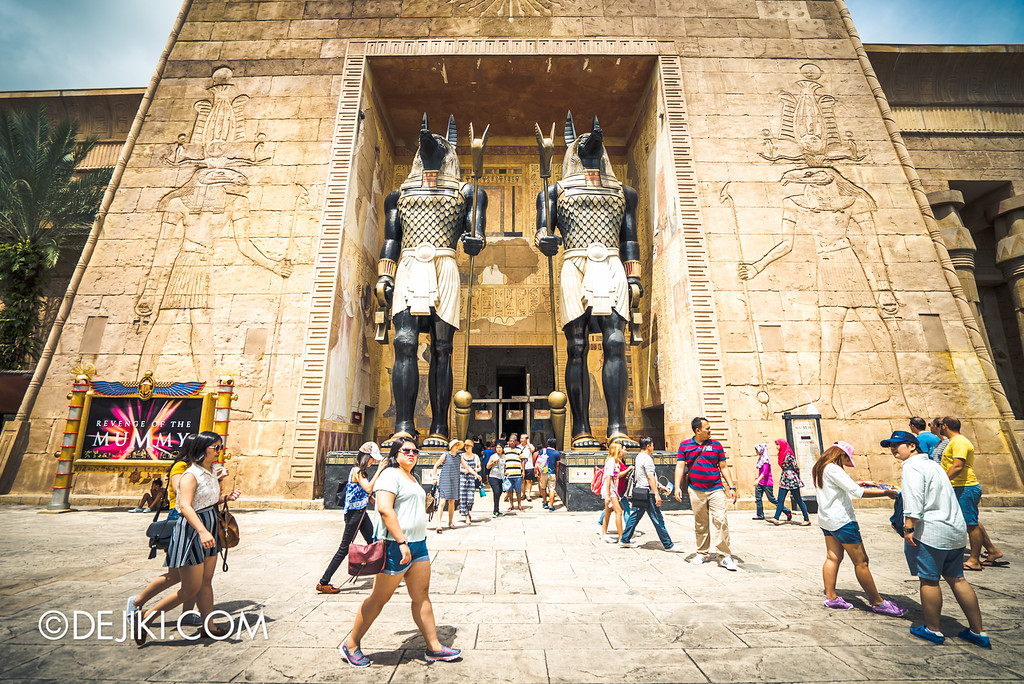 Universal Studios Singapore - Park Update May 2016 / Ancient Egypt