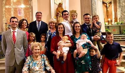 2019 05 26 Baptisms of Sawyer + Sullivan