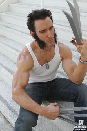 Lonstermash as Wolverine @ LBCC 2012