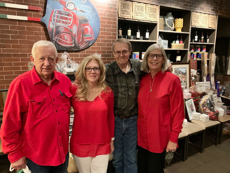 From left, Chet and Nancy Cook of Westford, and Ken and Robin Greenslade of Hudson, N.H.