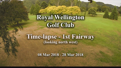 Apr 18 - Time-lapse - RWGC 1st Fairway growth