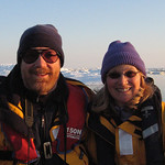 David and Linda in the Arctic