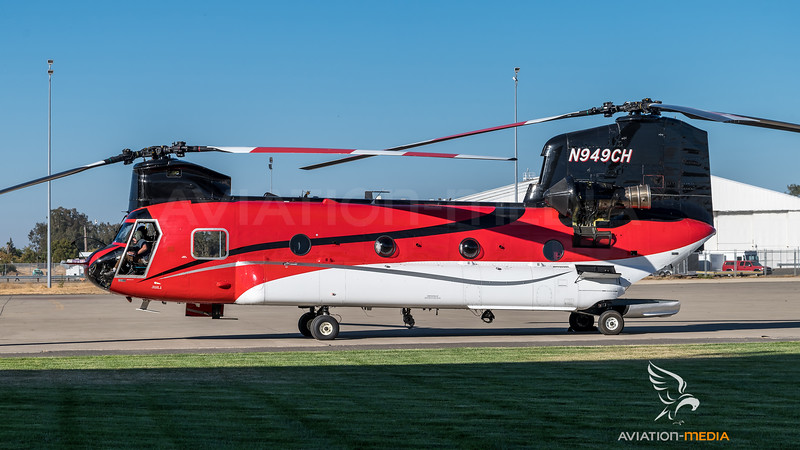 Heligroup Fire / Boeing CH-47D Chinook / N949CH