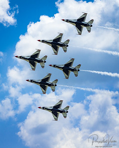 July: KC Air Show-Thunderbirds and Blue Angels