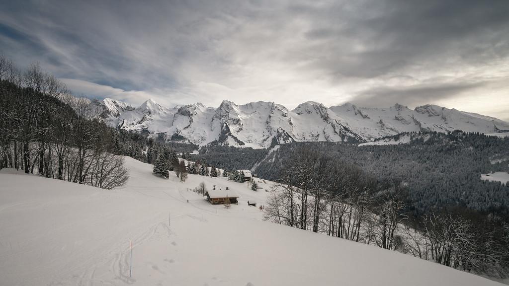 Ganas de nieve: Alpes de los Aravis