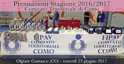 Premiazioni Stagione 2016/2017 - CT Como