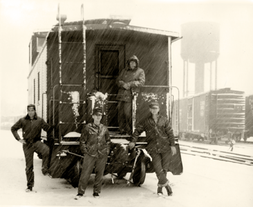 The Caboose Lads, February 1960