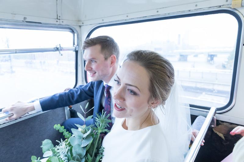 Sammi & Max | London Bus